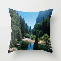 Zumwalt Meadow Trail Throw Pillow