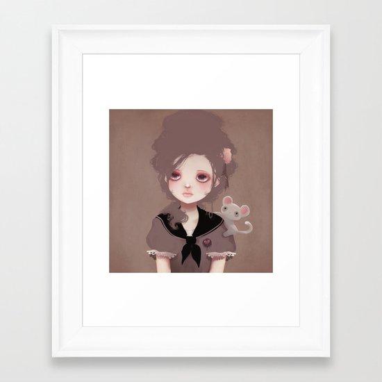 Emma (2011 version) Framed Art Print