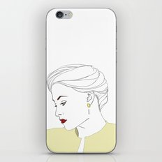 The Woman iPhone & iPod Skin