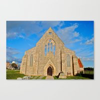 Church with no roof Canvas Print