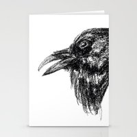 Common Raven Stationery Cards