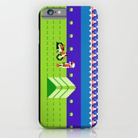 iPhone & iPod Case featuring Punctured Bike by Tshirtbaba