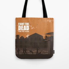 The Walking Dead Prison … Tote Bag