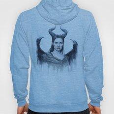 Maleficent Watercolor Po… Hoody