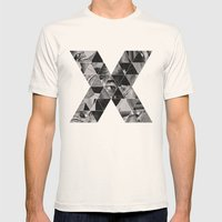 Malcolm X Mens Fitted Tee Natural SMALL