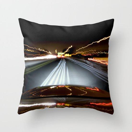 Road Rage Throw Pillow