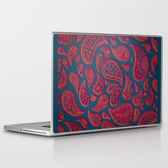 Paisley Doodles Laptop & iPad Skin