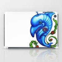Dolphin Blue iPad Case