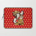 Quirky Office Gals Laptop Sleeve
