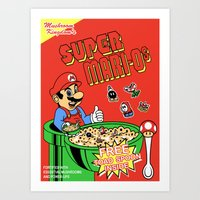 Super Mari-Os Art Print