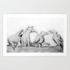 The Subterfuge Art Print