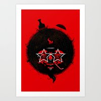 THE BLACK SUN Art Print