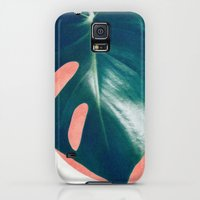 Galaxy S5 Cases featuring MONSTERA #1 by LEEMO