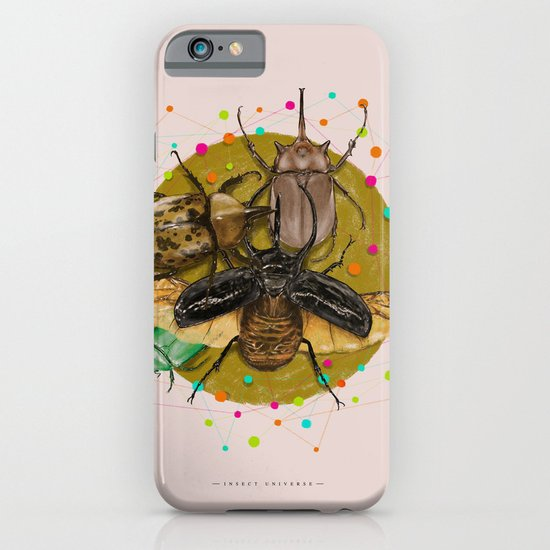 Insect Universe iPhone & iPod Case