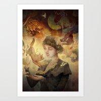 Silent Visions Art Print