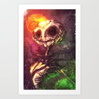 The Pumpkin King Art Print
