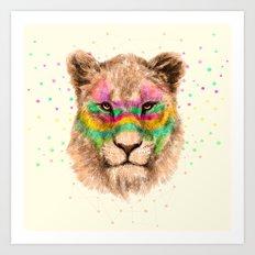 Lioness II Art Print