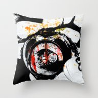 Throw Pillow featuring Love Defeated by Angela Mayotte