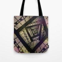 Abstract Mixed Media Des… Tote Bag