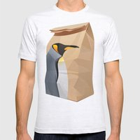 King Penguin Mens Fitted Tee Ash Grey SMALL