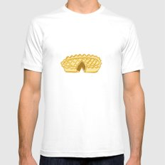PIE  White SMALL Mens Fitted Tee