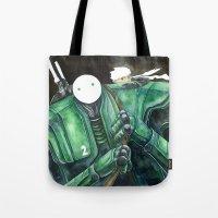 Moonbot #2: Green Tote Bag