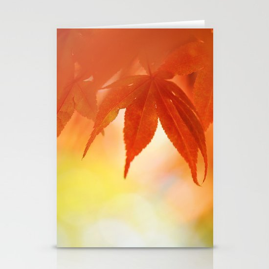 Autumnal tints Stationery Card