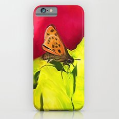 Butterfly and Cabbage Slim Case iPhone 6s