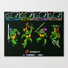 Select Your Turtle Canvas Print