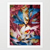 LADY GAINSBOROUGH Art Print