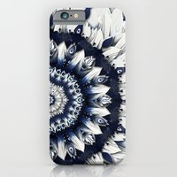 Blue Sash Mandala iPhone 6 Slim Case