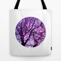 purple tree XXXII Tote Bag