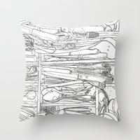 Everything But The Kitch… Throw Pillow