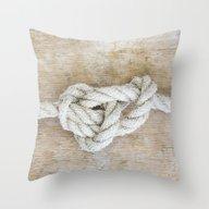 Throw Pillow featuring Knot by LebensART Photograph…