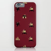"""iPhone & iPod Case featuring Movie Patterns - """"Friday Martial Arts"""" by Torso Vertical, Illustration and Design"""