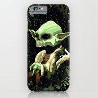 Skull Yoda Jedi Master  iPhone 6 Slim Case