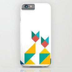 Tangram Cats 1 iPhone 6s Slim Case