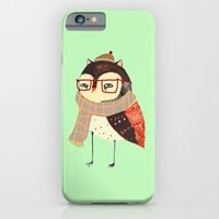 iPhone Cases featuring Smart Owl by Ashley Percival illustrator
