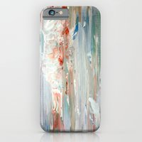 iPhone & iPod Case featuring White Painting II by Liz Moran