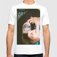 Joe. Mens Fitted Tee White SMALL