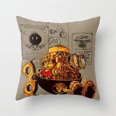 Work of the genius Throw Pillow