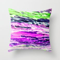 Wax #4 Throw Pillow