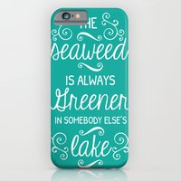 iPhone & iPod Case featuring The Little Mermaid by Typequotsters