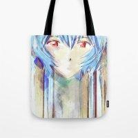 Rei Ayanami From Evangel… Tote Bag