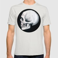 Bones XII Mens Fitted Tee Silver SMALL