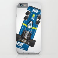 Outline Series N.º3, Jody Scheckter, Tyrrell-Ford 1976 iPhone 6 Slim Case