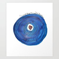 I Love Your Record Colle… Art Print