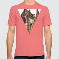 Glasgow Cathedral Mediev… Mens Fitted Tee Pomegranate SMALL