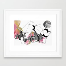 Magical Attack Framed Art Print