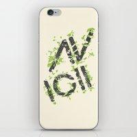 Grunge Avacii  iPhone & iPod Skin
